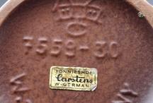 Germany Pottery - WGP - Fat Lava - Marks - GDR / West German Pottery identification - Fat Lava - WGP - East Germany