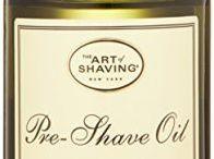 Pre shave oils for wet shaving