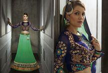 Düğün ve Nişan Hindistan Geleneksel Kıyafetleri / Sare