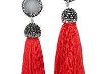 Strass earrings ❤️