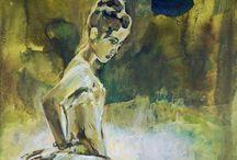 Painting: womanhood
