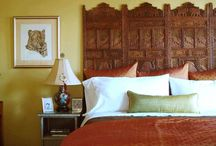 Creative Ideas for  Headboards / Inspirations for fun and funky headboards.