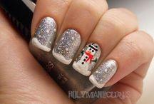 Xmas nail-art!!