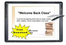 SmartBoard Music Lessons and Resources