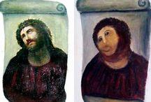 Art restoration for Dummies / Atrocities to art in the name of enthusiasm, idiocy or just plain negligence.