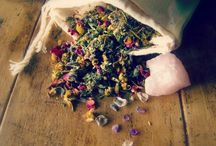 Herbs, Oils, Candles & Crystals