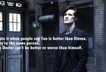 Doctor who? / by Evan Wechnenko