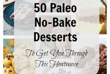 A Clean Bake Desserts / Delicious paleo, gluten free and sugar free dessert recipes from A Clean Bake