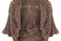 Crochet Cardigans, vests, jackets - Gehaakte vestjes, jassen, truien