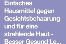 Gesich- / Körper Behaarung