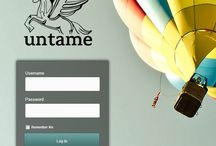 Customized Wordpress Login Screens / The Wordpress login screen is fully customizable! Here are some ideas.