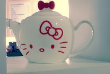 Hello kitty tea pots / by Kitty White