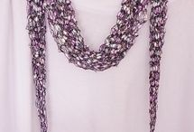 Jewelry - fiber art & scarves