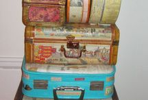 Altered Suitcases