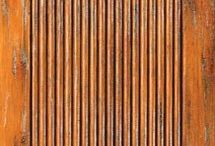 Western Doors / This board shows examples of doors with the flavor of the Old West. Stained and distressed wood accented with V-grooves and iron clavos are particularly good at giving this look to doors. Another factor contributing to the rustic look is the use of knotty woods such as alder. #doornmore #exterior door #interior door