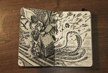 Sketching. / by Vivienne Mak