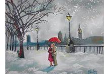 Paintings of London / My paintings of London