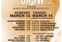 sxsw 2013 flyers