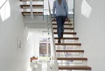 Flotte trapperom / Trappen trenger ikke å være det mørke området i huset ditt - utnytt plassen og la lyset flomme inn i flere etasjer.