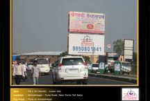 Hoardings at Nagar Road / To book hoardings contact us on - +91 9890801841 | www.aimadvertising.in
