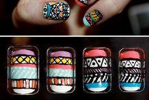 nails + hair