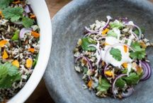 Healthy Salad Recipes / Interesting, delicious and nourishing salad recipes.