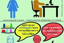 Freelance humour / Humour in freelance life