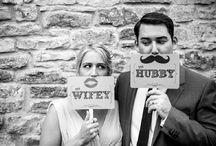 Weddings : Photo props / Instagram