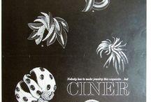 Ciner vintage ads