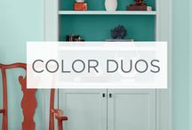Color Duos / Combining two colors adds interest and dimension to your space. Get creative and take risks for a truly unique look. / by Valspar