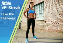 #FitStreak / The editors of Fitbie challenge you to go on a #FitStreak: Exercise a minimum of 20 minutes a day for the entire month of February. Each day, we'll provide you with a workout, a fitness tip, or expert-approved advice on The Juice Bar (http://www.fitbie.com/blog/juice-bar). By March 1, you'll be on the fast track to a swimsuit-ready body.