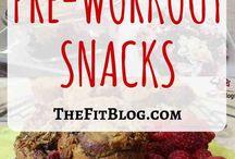 pre end workout meals