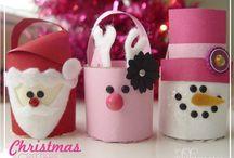 Christmas ideas / Idee, decorazioni per la festa di Natale.