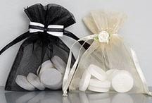 Huwelijk organza zakjes / Organza zakjes, tasjes en verpakkingen tbv huwelijksbedankjes
