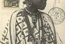 old african postcards. / cartes postales anciennes sur l'AFRIQUE; photographes anonymes.