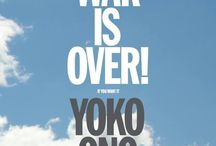 WAR IS OVER! (If You Want It) / Selection of merchandise produced exclusively for the Museum of Contemporary Art Australia's current exhibition by Yoko Ono.