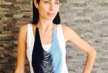 Fringe Necklace collection 2016 / Handmade fringe necklace collection 2016 so lightweight and comfy!!!! Great for the Festival tribe:)