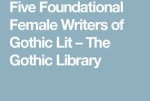 Female Gothic Authors