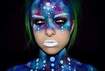 Makeup for girls dance