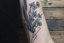 Geometric Flowers & Boats