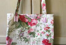 Vintage & Vintage style Fabric Bags