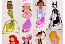 Disney Princess Crafts / Super cute Disney Princess crafts and activities! Moana, Frozen, Cinderella, Ariel and loads more that kids will love.