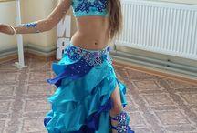Восточные танцы, костюм