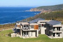 Breakwater Bay Eco Estate  / Breakwater Bay is a cliff side wonderland with a panoramic view of the Indian Ocean towards a spectacular view of Mosselbay. View by appointment  www.earp.co.za