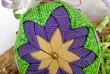 Quiltsy, Easter Decor from the Etsy Quiltsy Team / Easter and Pastel Quilts and Décor