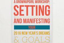 grownUPgirl Workshops