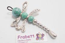 Colgantes Frabett / Colgantes independientes, para gargantillas, collares, pulseras, bolsos, etc......