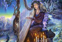 josephine wall / beautiful magical artist