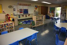Preschool Classroom / Ideas for setting up a preschool classroom
