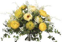 centros de flores naturales